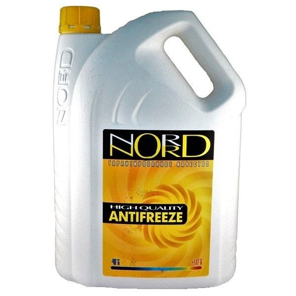 Антифриз NORD High Quality Antifreeze готовый -40C желтый 5 кг NY 20423